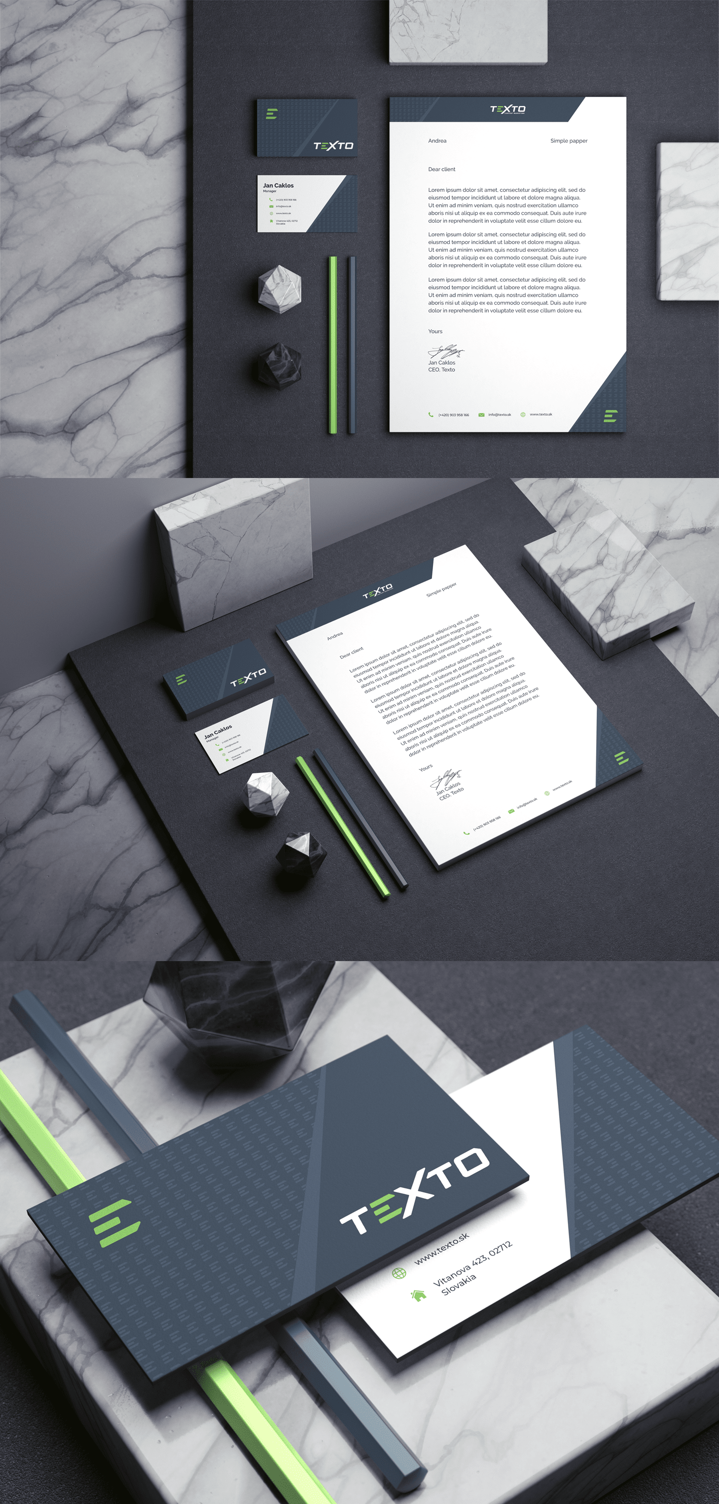 Stationery design